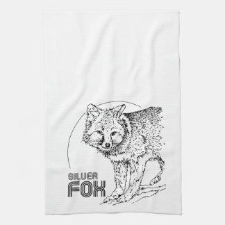 SILVER FOX VINTAGE TOWEL