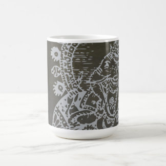 Silver Ganesh Mug - add your own name or text