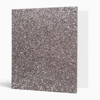 Silver glitter binder