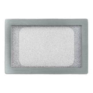 Silver glitter blank template belt buckle