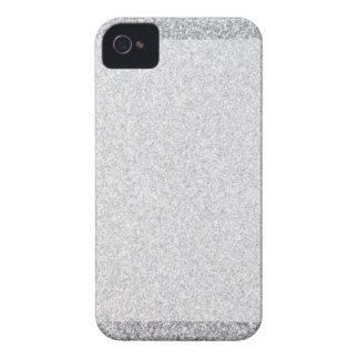 Silver glitter blank template Case-Mate iPhone 4 case
