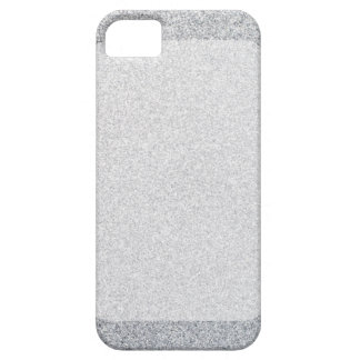 Silver glitter blank template iPhone SE/5/5s case