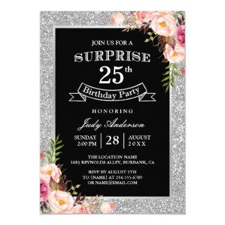 25th Birthday Invitations Announcements Zazzle