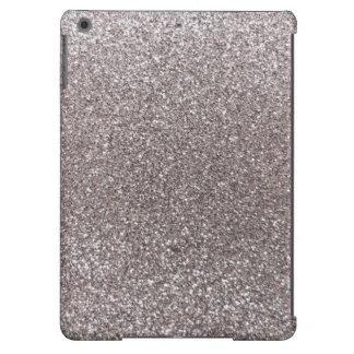 Silver glitter iPad air cover