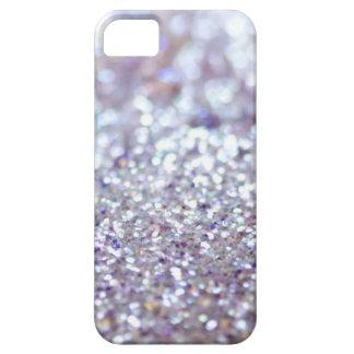 Silver Glitter iPhone SE/5/5s Case