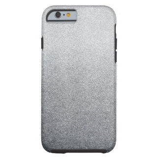 Silver Glitter Sand Look Ombre Light Tough iPhone 6 Case