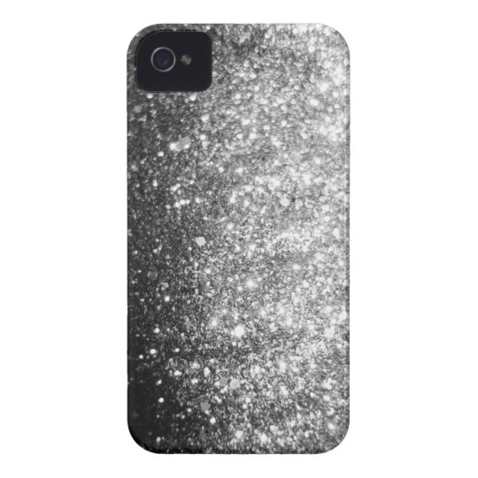 Silver GLitter Sparkle iPhone Case
