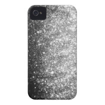 Silver GLitter Sparkle iPhone Case iPhone 4 Covers