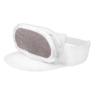 Silver glitter visors