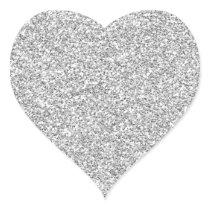 Silver Glittery Metal-esque Sticker