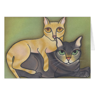 Silver & Gold by Robyn Feeley Greeting Card