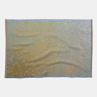 Silver Gold Metal Texture Pattern Look | Elegant Towel