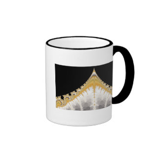 Silver Gold Volcano Mug