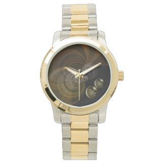 Silver & Gold Watch