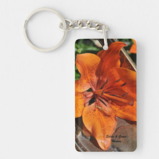 Silver & Grace Garden Key Chain Acrylic Keychains