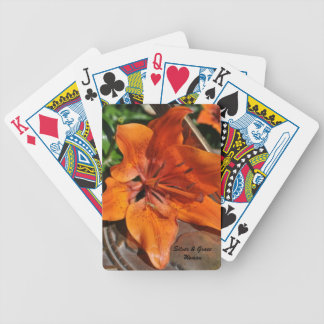 Silver & Grace Garden Playing Cards