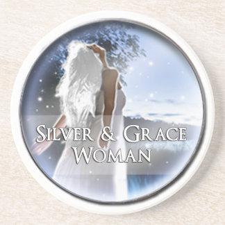 Silver & Grace Woman Coaster