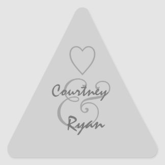 Silver Gray Envelope Seal Wedding