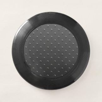 Silver Gray Faux Metal Look Wham-O Frisbee