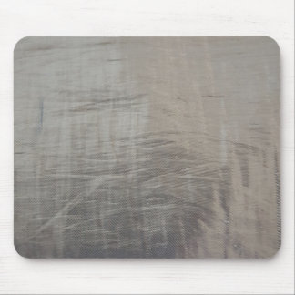 Silver Gray Foiled Fabric Look Mouse Pad