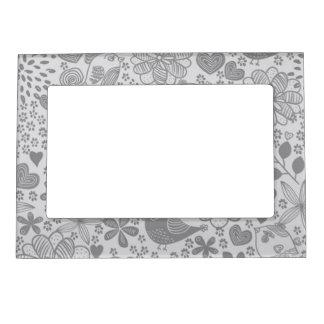 Silver Gray Lovin' Life Magnetic Frame