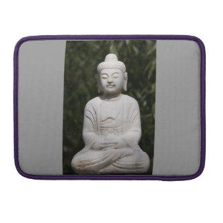 Silver Grey Buddha Macbook Pro sleeve