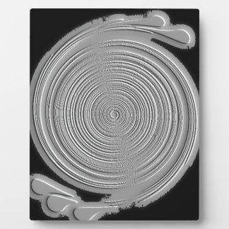 Silver-Grey Plaque