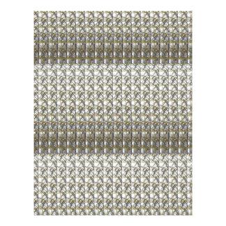 Silver Grey Stripes Template DIY add Text Photo Letterhead