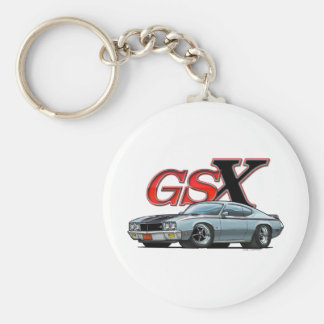Silver_GSX Llavero Redondo Tipo Pin