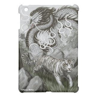 Silver Guardians Dragon & Tiger iPad Case
