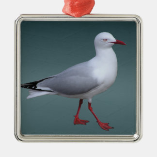 Silver Gull Necklace Christmas Ornament
