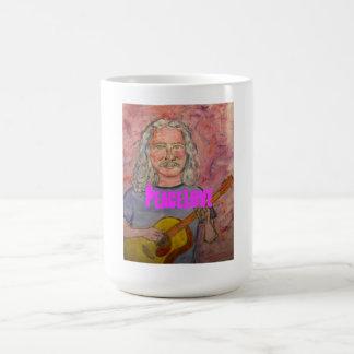 silver haired folk rocker PeaceLove Coffee Mug