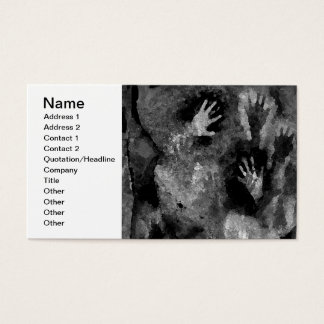 Silver Hands Business Card