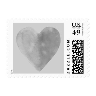 Silver Heart Postage