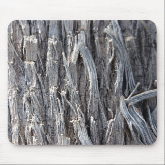 Silver Heavy Metal Wire Strands Design Mouse Pad