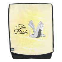 Silver Heels Yellow Backpack
