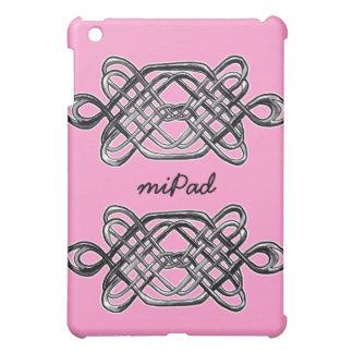 Silver Hexagon iPad Mini Cases