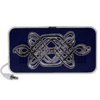 Silver Hexagon Speakers
