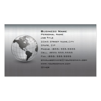 Silver Hi-Tech Computer Business Business card