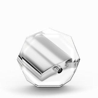 Silver hip flask award