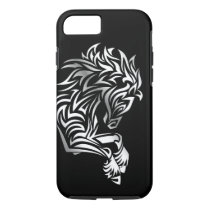 Silver Horse Black Animal iPhone 8/7 Case