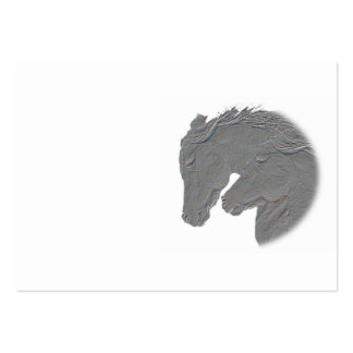 Silver Horses Business Card
