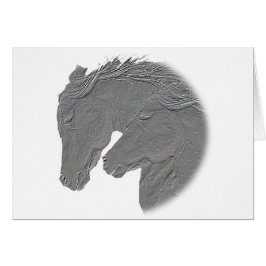 Silver Horses Card