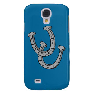 Silver Horseshoes Samsung Galaxy S4 Case