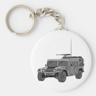 Silver Hummer Keychains