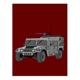 Silver Hummer Postcard