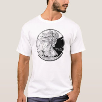 Silver - In No Fiat We Trust T-Shirt