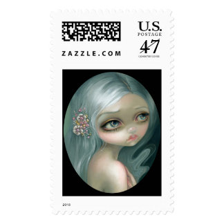 """Silver Introspection"" Stamps"