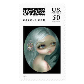 """""""Silver Introspection"""" Stamps"""