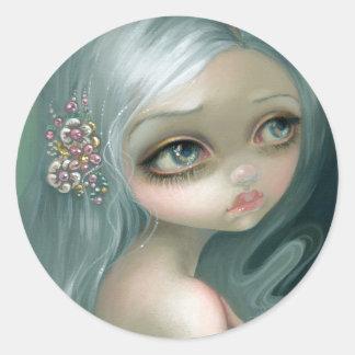 """Silver Introspection"" Sticker"